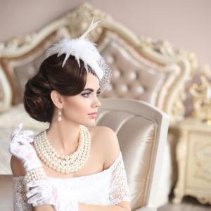 Veletta da sposa, come indossarla
