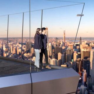 Apre Edge a New York: la terrazza sospesa nel vuoto