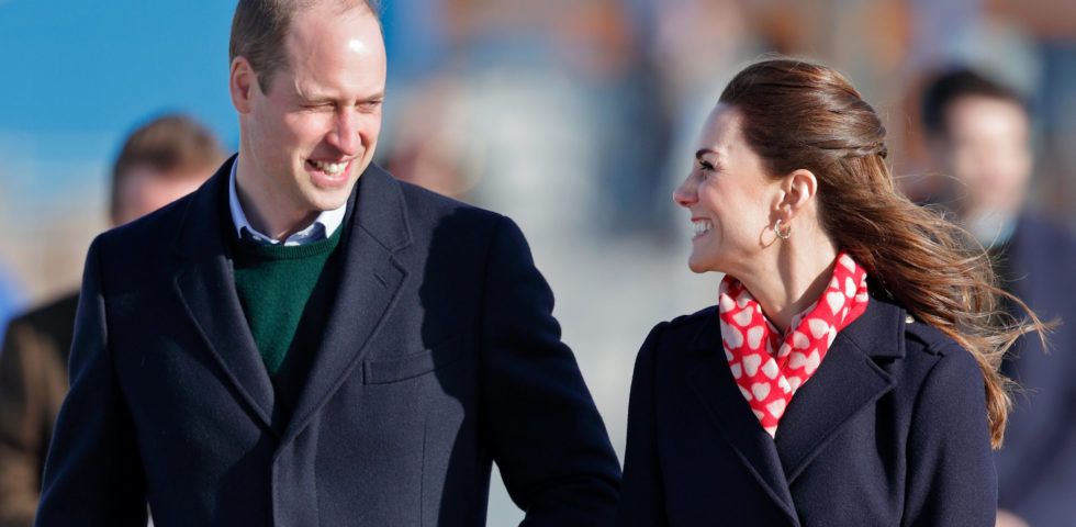 Kate Middleton e il Principe William: gesti d'affetto in Galles