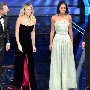Sanremo 2020: i look di Diletta Leotta e Rula Jebreal