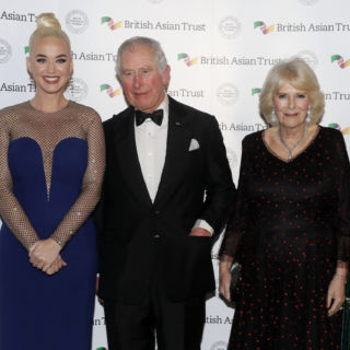 Katy Perry in Stella McCartney incontra il Principe Carlo