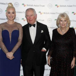 Katy Perry in Stella McCartney incontra il Principe Carlo
