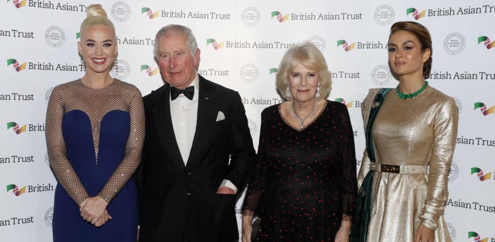 Katy Perry: il Principe Carlo la nomina ambasciatrice del British Asian Trust
