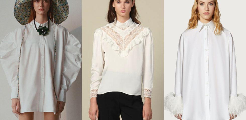 Camicia bianca elegante: 10 modelli iperfemminili