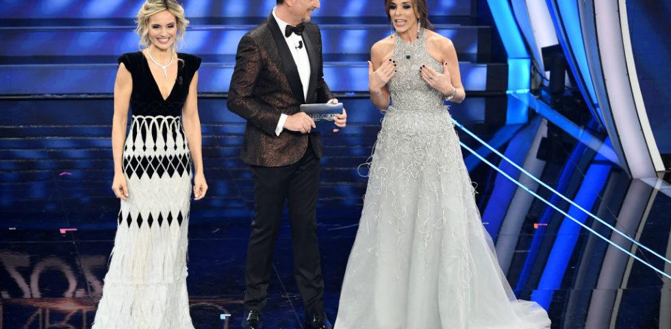 Sanremo 2020: i look di Laura Chimenti,Emma D'Aquino e Sabrina Salerno