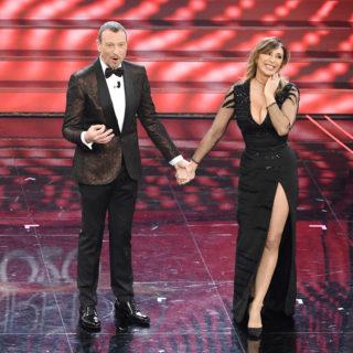 Sanremo 2020: il look mozzafiato di Sabrina Salerno