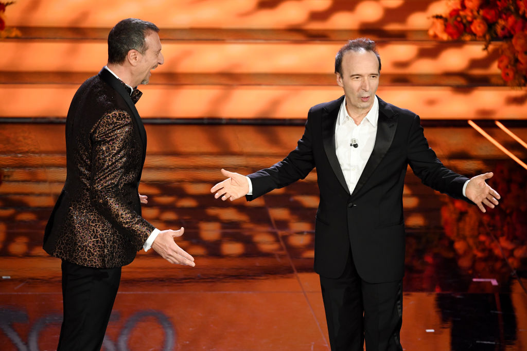 Sanremo 2020: Roberto Benigni recita un brano de Il Cantico dei Cantici