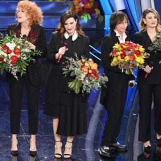 Ospiti e cantanti della finale di Sanremo