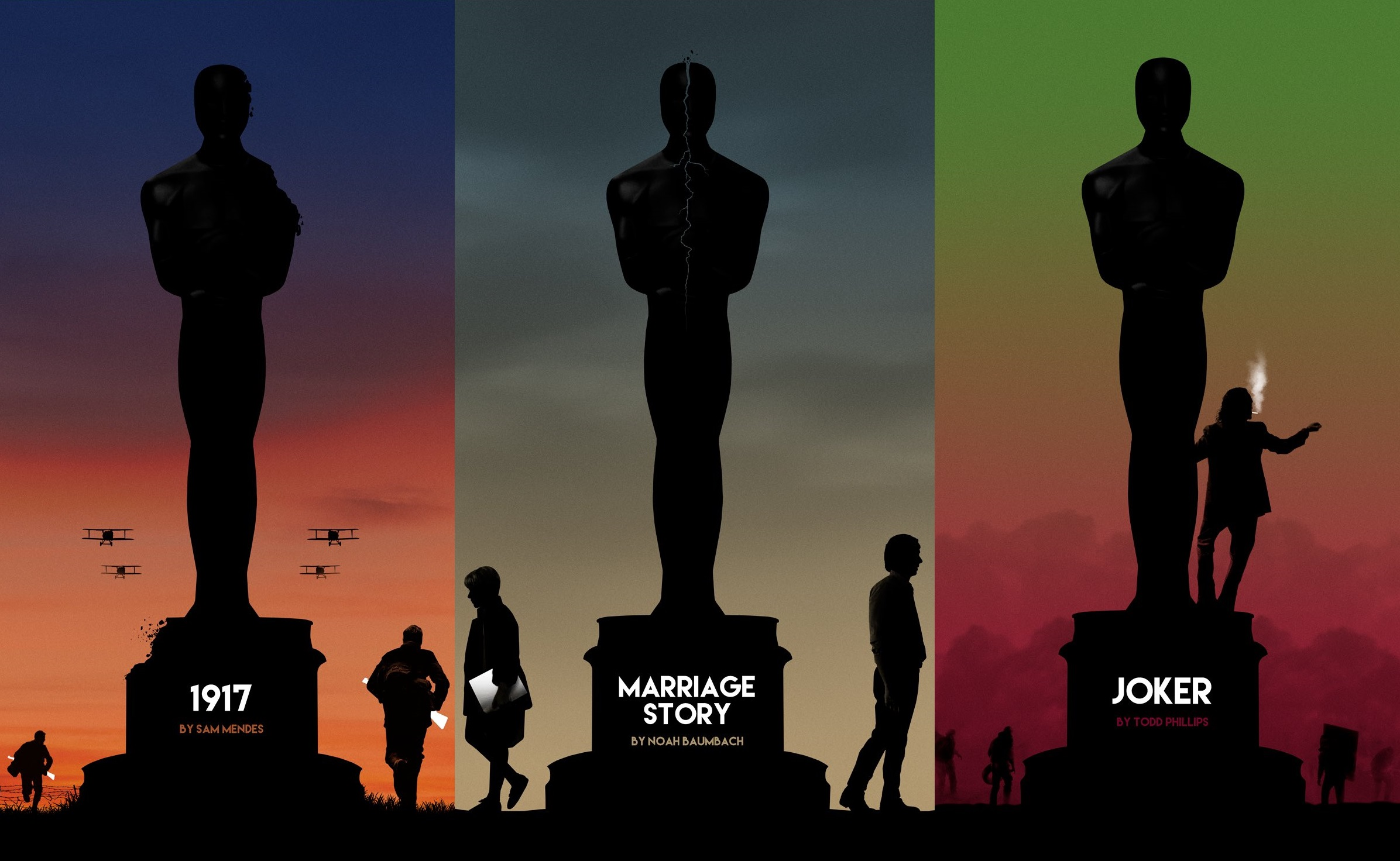 Oscar 2020: i poster dei film rivisitati dagli artisti