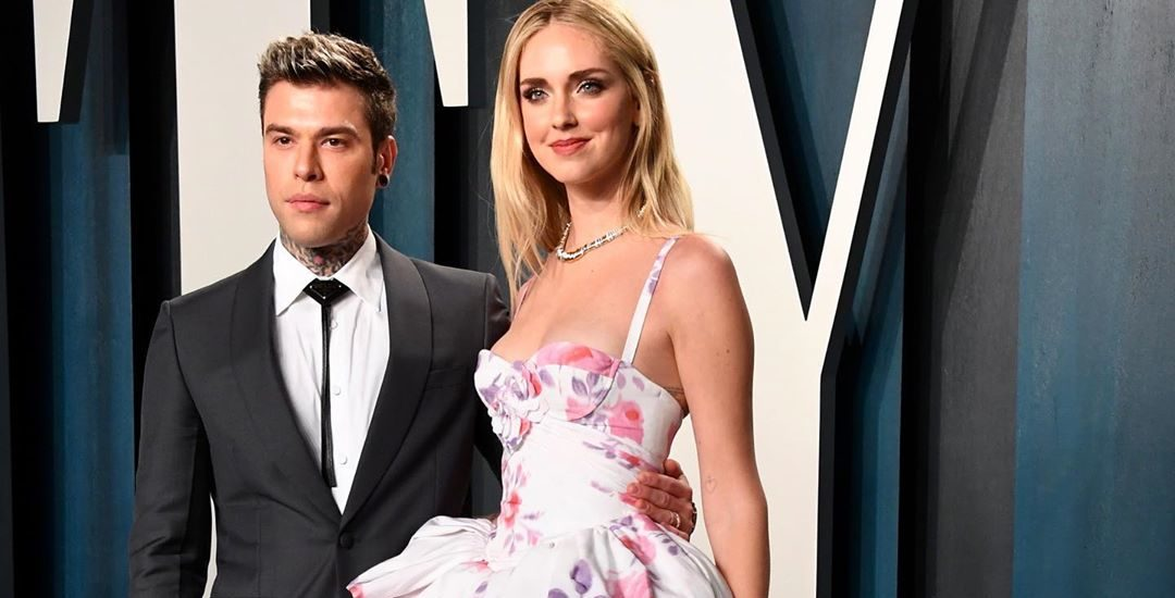Chiara Ferragni e Fedez: i look del Vanity Fair After party