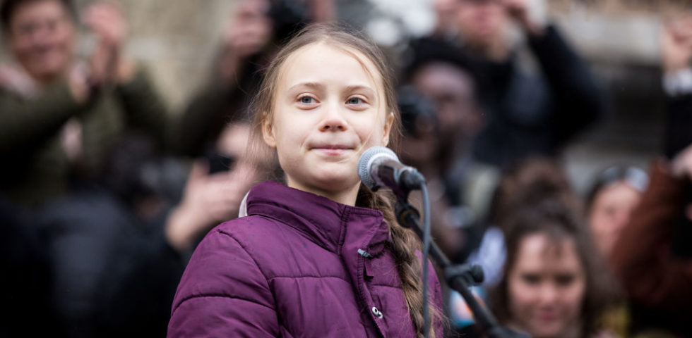 Greta Thunberg protagonista di un programma tv sul suo impegno