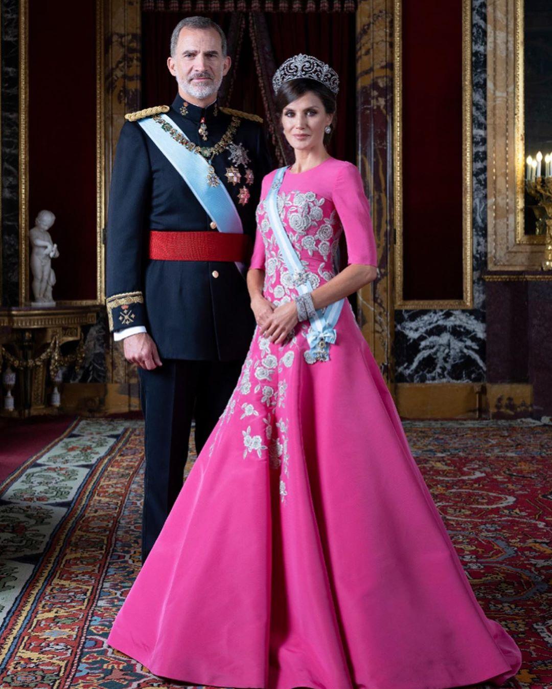 Letizia Ortiz: l'album di famiglia dei Reali di Spagna