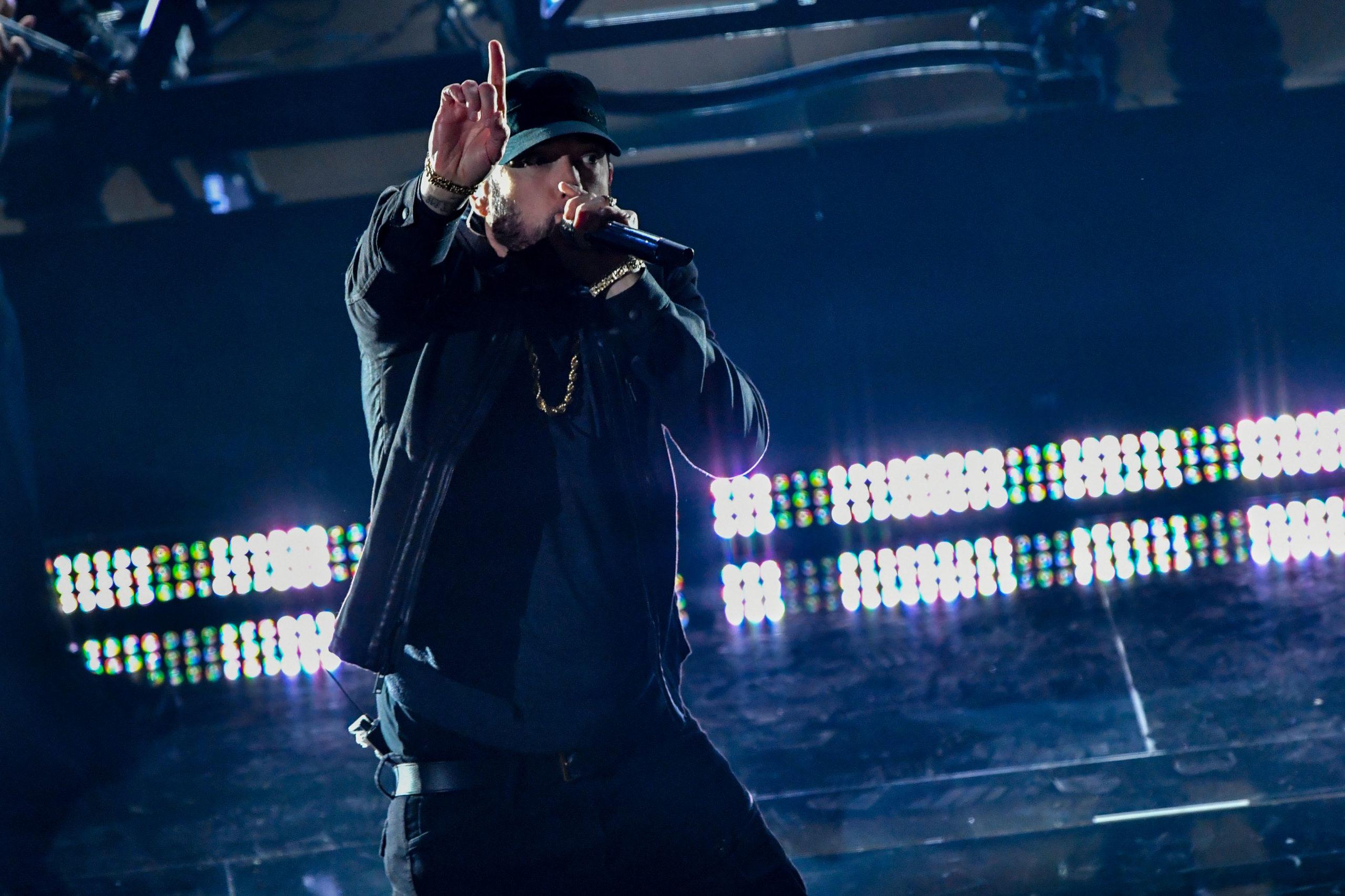 Come ha fatto Eminem a tener segreta la sua esibizione