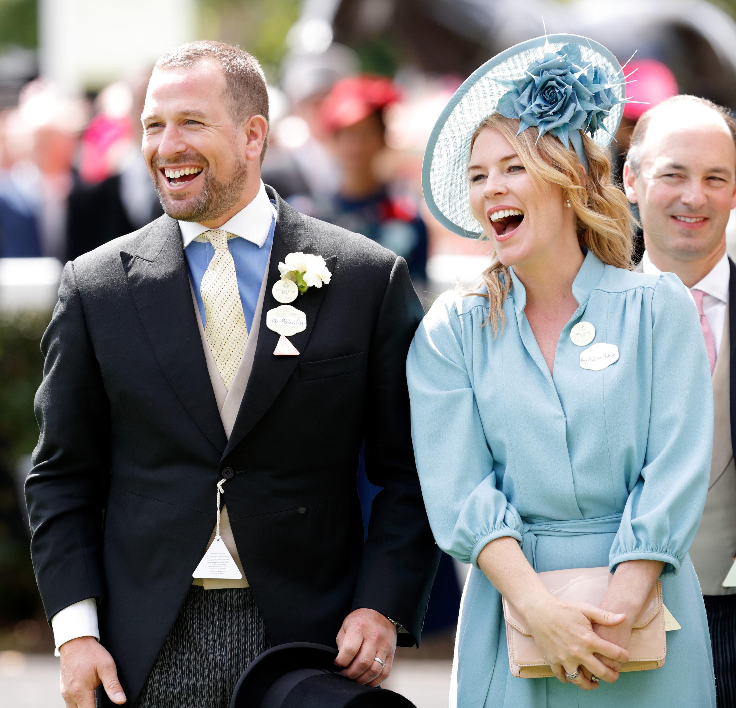 Regina Elisabetta: il nipote Peter Phillips si separa dalla moglie Autumn