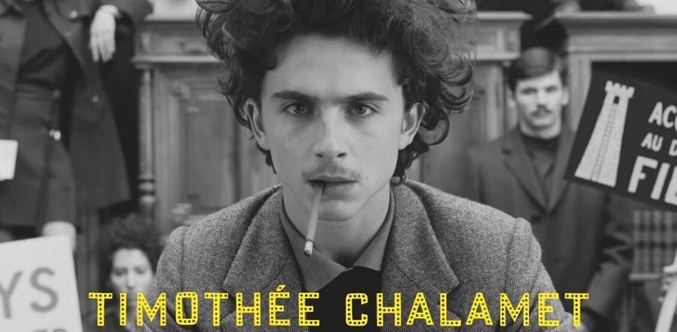 Timothée Chalamet nudo sul poster del nuovo film di Wes Anderson