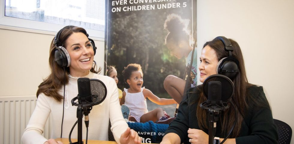 Kate Middleton racconta la sua infanzia felice in un podcast