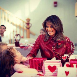 Melania Trump: ecco come trascorre ogni San Valentino