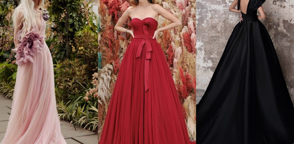 Abiti da sposa 2020 colorati, i più eleganti