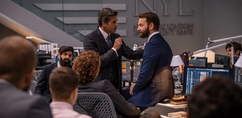 Diavoli: la serie tv Sky con Patrick Dempsey e Alessandro Borghi (video)