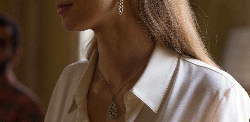 Beatrice Borromeo nuova testimonial dei gioielli Buccellati