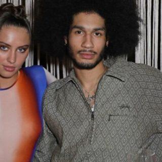 Iris Law hot con seno in visto alla London Fashion Week