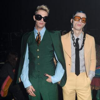 Achille Lauro ospite d'eccezione alla sfilata di Gucci