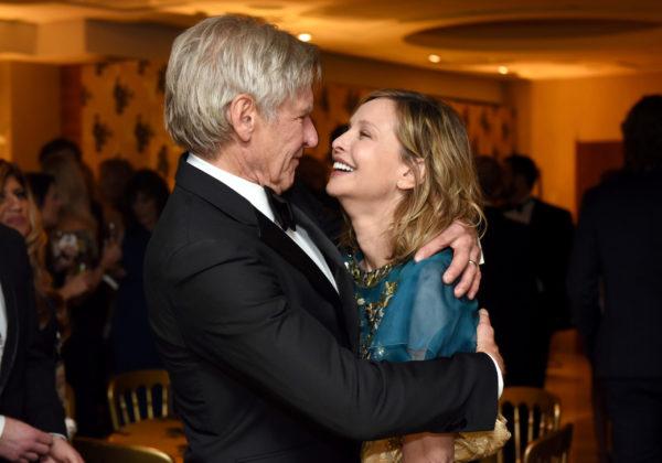 Harrison Ford ironizza sul segreto delle sue nozze con Calista Flockhart