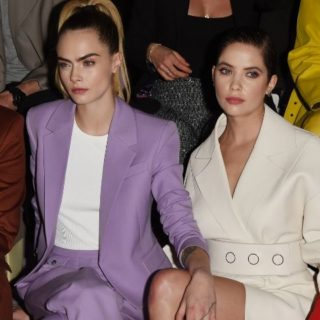 Cara e Ashley alle sfilate della Milano Fashion Week