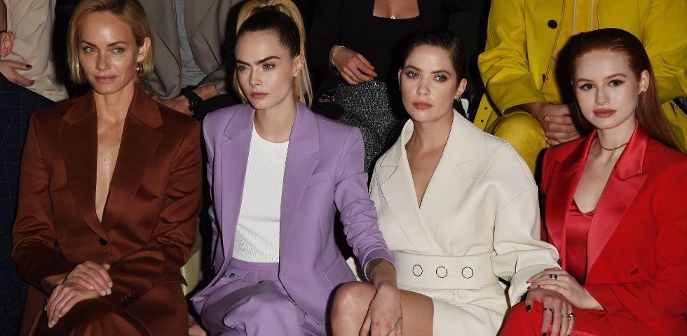 Cara Delevingne e Ashley Benson inseparabili alla Milano Fashion Week