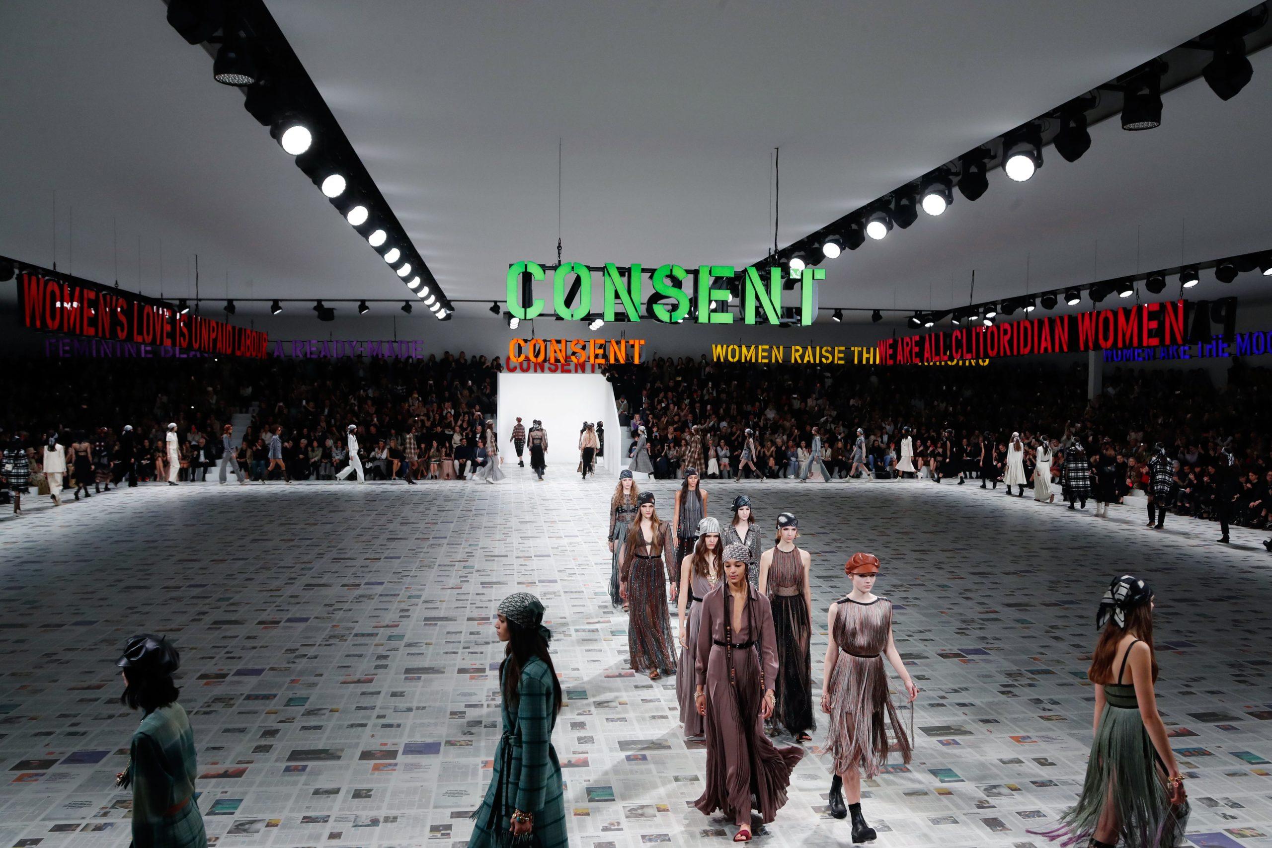 La femminista hippie chic di Dior