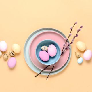 Inspiration: centrotavola pasquali con le uova
