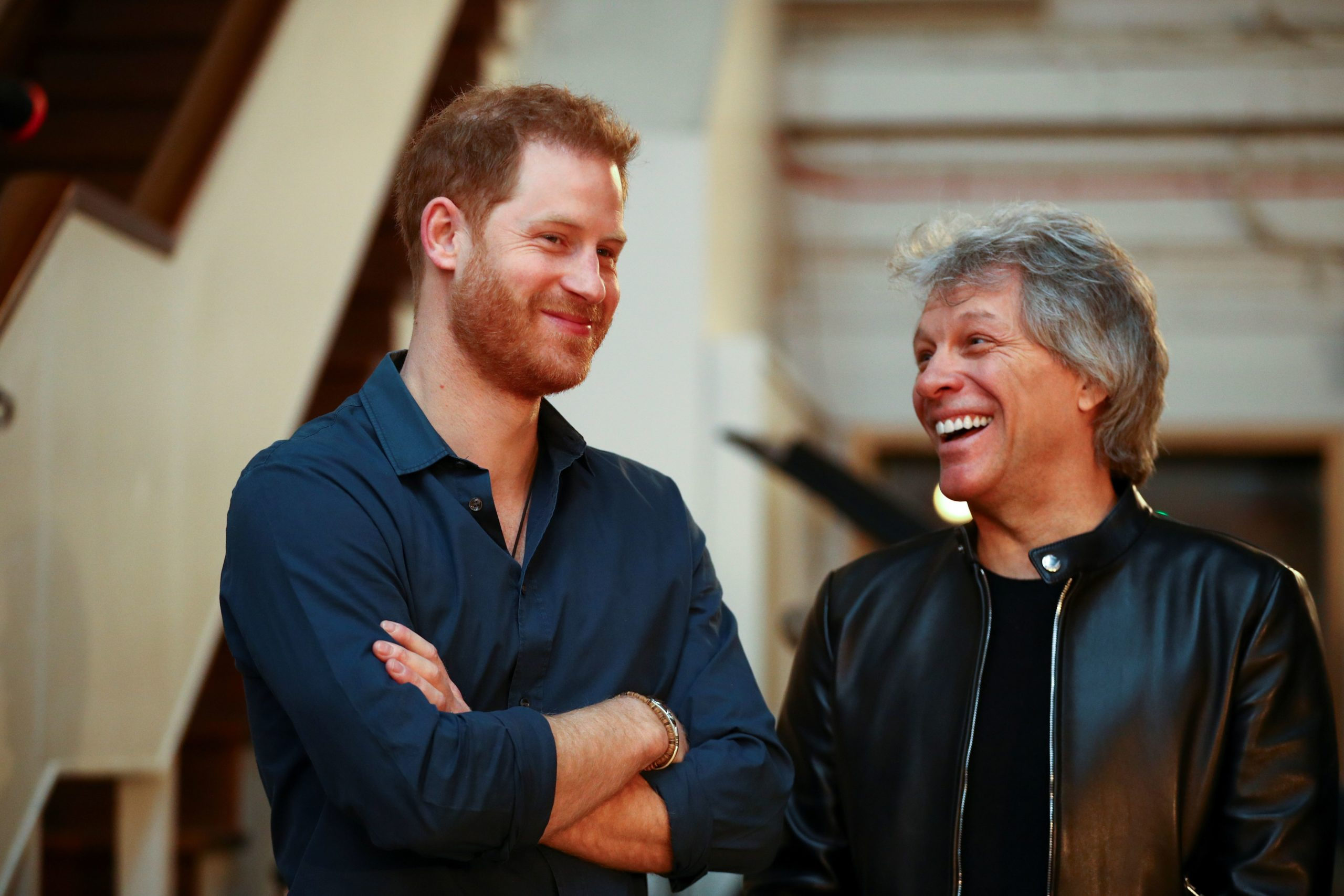 Il Principe Harry e Jon Bon Jovi ad Abbey Road per registrare un duetto