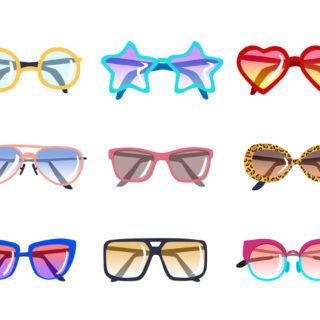 Gli occhiali da sole più adatti a ogni forma del viso