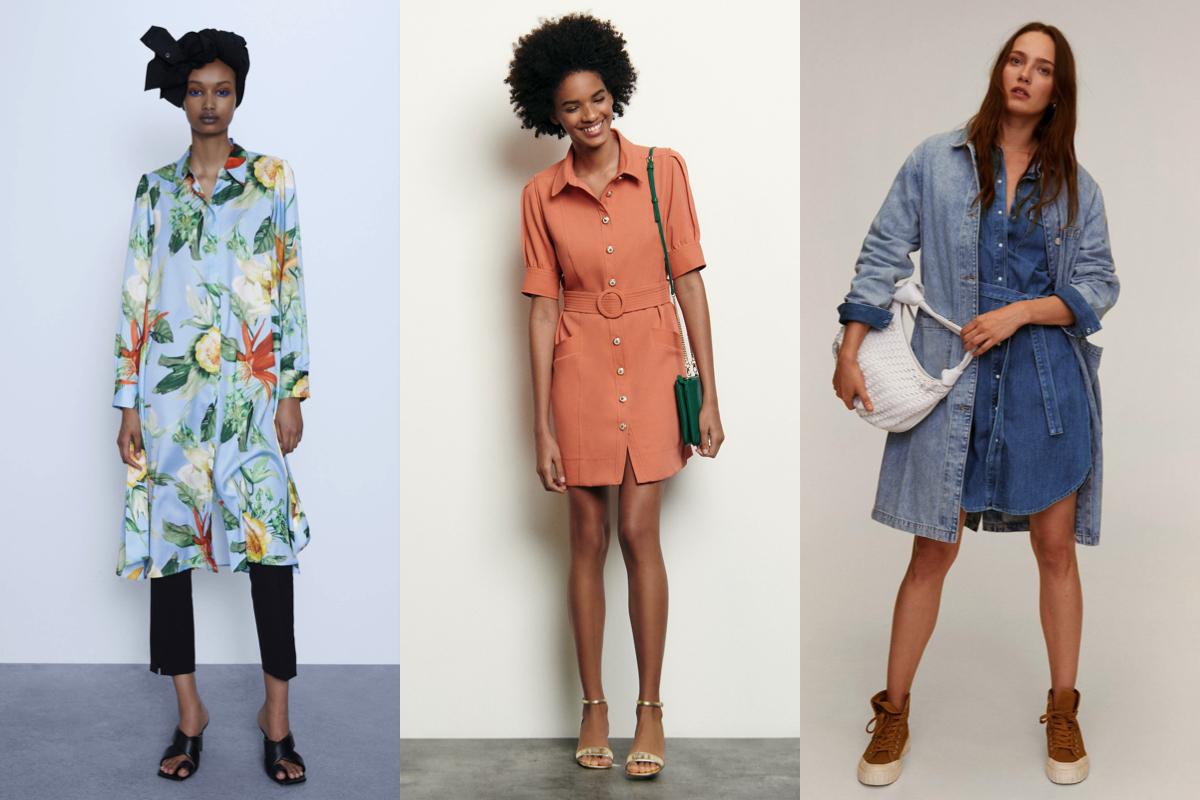 Fashion alert: tutte pazze per l'abito chemisier!