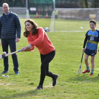 Kate e William salutano l'Irlanda con lo sport