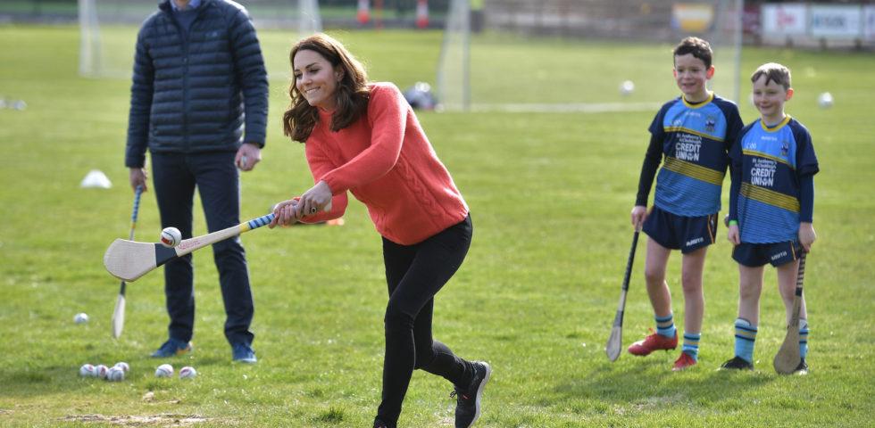 Kate Middleton: pomeriggio di sport per l'ultimo giorno in Irlanda