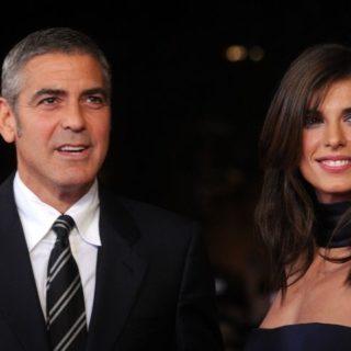 George Clooney spende parole dolci per Elisabetta Canalis