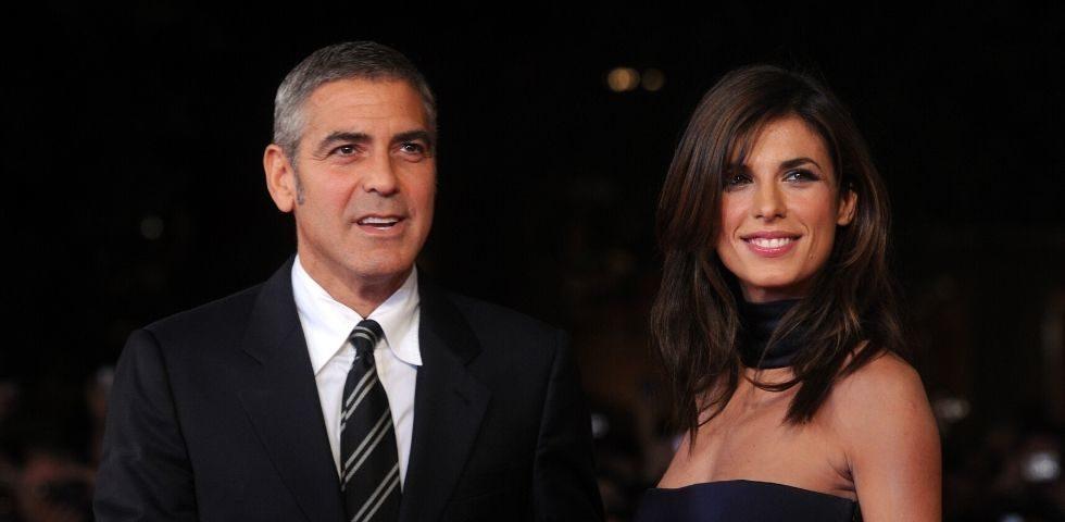 """George Clooney: """"Elisabetta Canalis la mia partner più divertente"""""""