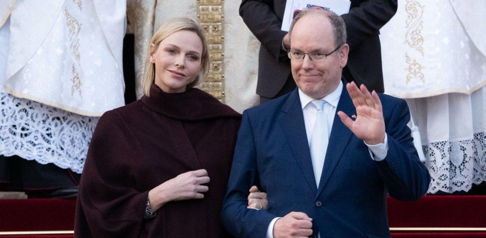 Charlene di Monaco torna in pubblico con un look molto sobrio