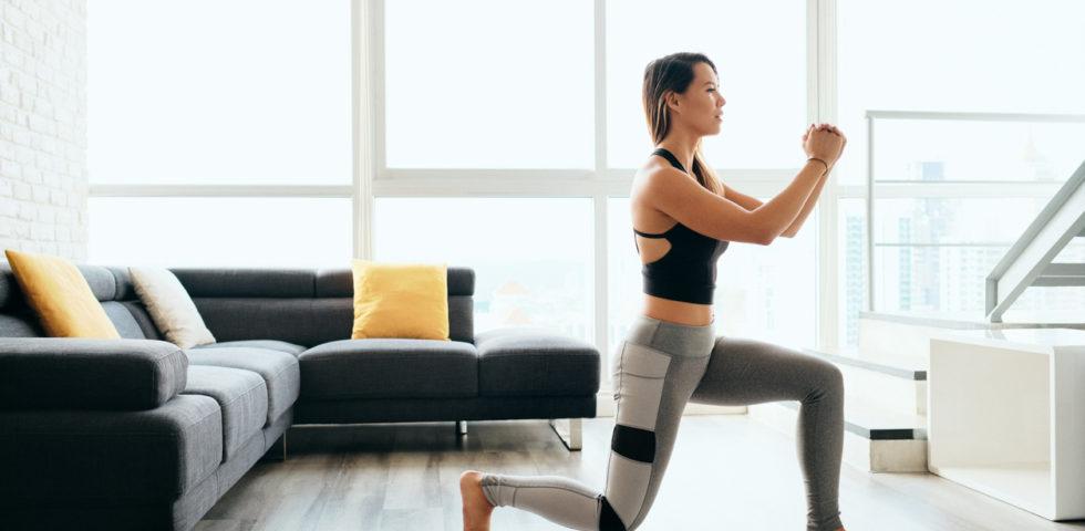 Fitness a casa: gli esercizi per restare in forma