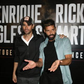 Ricky Martin ed Enrique Iglesias: tour insieme con i figli