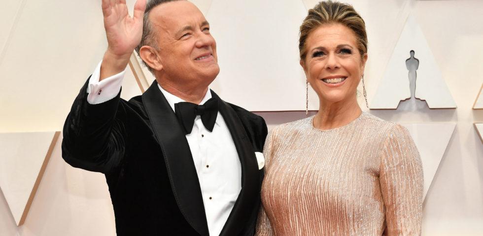 Coronavirus: i messaggi di affetto dei colleghi a Tom Hanks e Rita Wilson