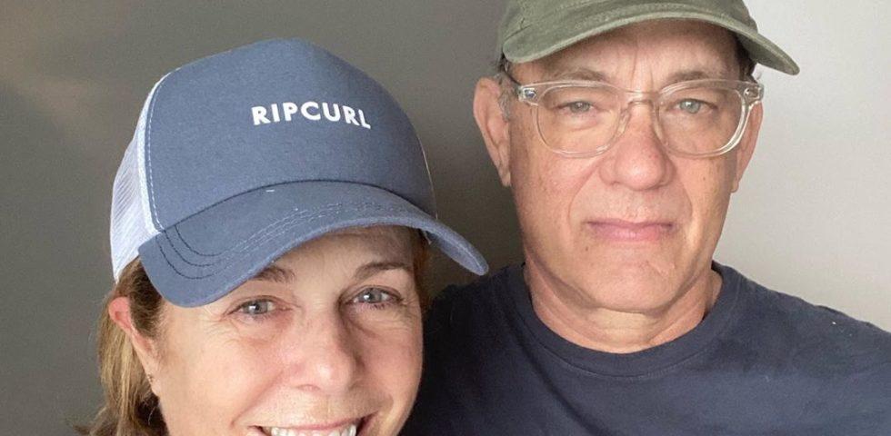 Coronavirus: Tom Hanks in isolamento con la moglie rassicura i suoi fan