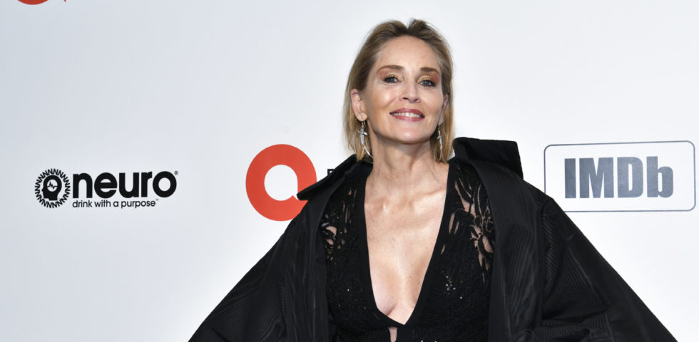 Sharon Stone ringrazia la Croce Rossa italiana in un video su Instagram