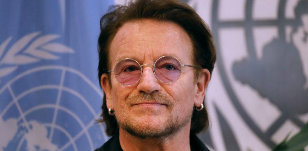 Coronavirus: Bono Vox degli U2 dedica un brano inedito all'Italia