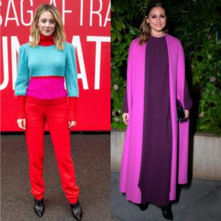 Fashion tip: Color block, come lo indossano le star
