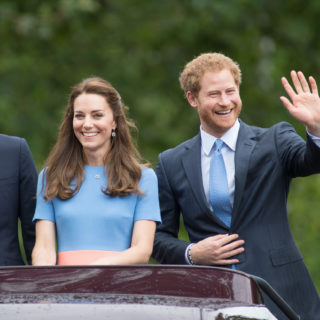 Kate Middleton triste lontana dal Principe Harry