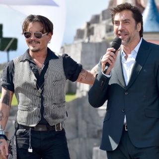 Javier Bardem difende Johnny Depp