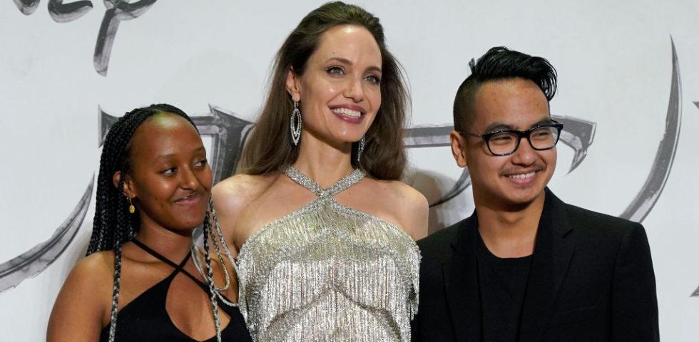 Brad Pitt e Angelina Jolie uniti per il loro figli durante la quarantena