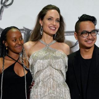 Angelina Jolie: i figli preferiscono Brad Pitt a lei
